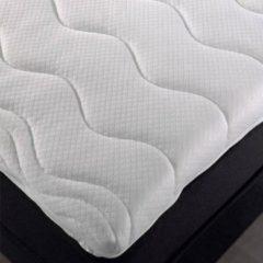 Witte Merkloos / Sans marque 160x210 Topper-dekmatras Koudschuim HR40