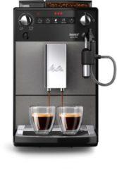 Melitta espresso apparaat AVANZA F270-100 MYSTIC titanium