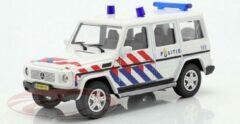 Rode Mercedes-Benz G-Klasse Politie Nederland 1:43 Cararama - Modelauto - Schaalmodel - Miniatuurauto