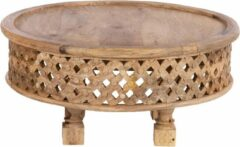 Cozy Ibiza Vintage houten (bijzet) tafel L