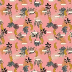 Roze Stationery Team Accessorize Fashion Kaftpapier: 2x vel 100x70 cm