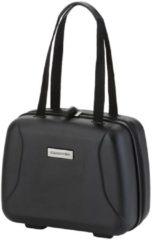 CarryOn 'Skyhopper' Beautycase| Make-up Koffer | Luxe Toilettas Dames | Met cijferslot | Maat: 33,5 x 28 x 18 | 5 jaar garantie | Zwart