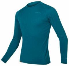 Endura - Baabaa Blend Langarm Baselayer - Sport-T-shirt maat L, blauw