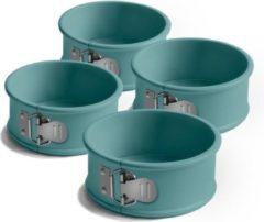 Blauwe Ja, Jamie Oliver kleine ronde springvormpjes - set van 4 - 10x4cm