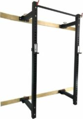 Zwarte Strongman opklapbaar Power Rack