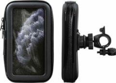 Shop4 - iPhone 11 Pro Max Fietshouder Stuur Spatwaterdicht Zwart