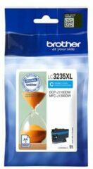 Blauwe Brother LC-3235C XL inkt cartridge cyaan hoge capaciteit (origineel)