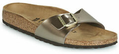 "Bruine Slippers Birkenstock Madrid BS ""Electric Metallic"""