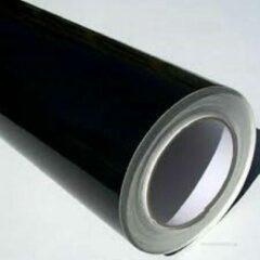 RITRAMA VINYL Folie voor de Snijplotter Kleur Zwart Glans 30,5cm breed x 50 Meter Lang