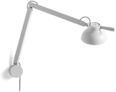 Hay PC Double arm Bureaulamp met tafelklem - Grijs