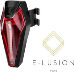 Zwarte E-lusion R1- oplaadbaar