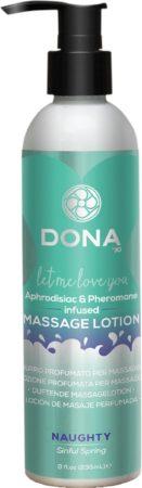 Afbeelding van Dona-by-Jo Dona Massage Lotion Sinful Spring - 250 ml - Massageolie