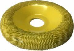 Gele Saburrtooth Saburr Power carving wheel 100 mm, round, fine