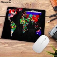 ProductGoods - Leuke Muismat Werelkaart Landen - Muis - Kantoor - Bureau - Computer - Wereldkaart - Landen