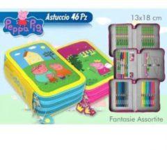 Peppa Pig Astuccio Scuola 3 Cerniere assortiti NO SCELTA