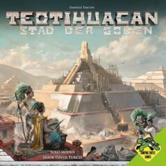 Jumping Turtle Games Teotihuacan: Stad der Goden Bordspel
