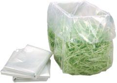 Transparante HSM opvangzakken voor papiervernietiger Securio B34 pak van 100 zakken