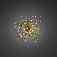 Konstsmide 2896-803 Geschikt voor gebruik binnen Geschikt voor buitengebruik LED Goud decoratieve verlichting
