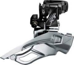 SHIMANO IFDT8000HX3 Umwerfer Deore XT Down-Swing FD-T8000,Dual Pull,63-66° High-C, schwarz (1 Stück)