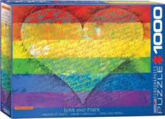 Eurographics puzzel One Love - 1000 stukjes