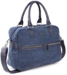 Vadobag Kidzroom Ready Verzorgingstas Unisex - Blauw - Canvas look
