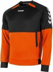 Oranje Hummel Authentic Top Round Neck Sporttrui Unisex - Maat XL