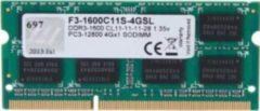 G.Skill DDR3 - 4 GB - 1600 MHz - 1.35 V F3-1600C11S-4GSL