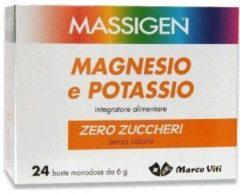 Marco viti farmaceutici Massigen Magnesio Potassio Senza Zuccheri per i crampi