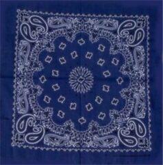 Kodiak Bandana bloem Donkerblauw