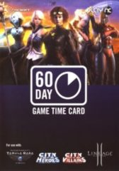 Zwarte NCSOFT PrePaid Kaart 60 Dagen