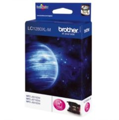 BROTHER LC1280XLM CARTUCCIA MAGENTA PER MFC-5910/6510/6710/6910 1.200 PAG