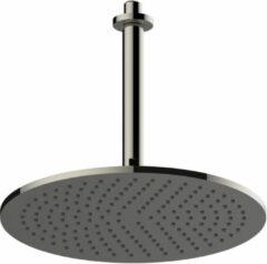Salenzi Giro douchekop zwart chroom 30cm