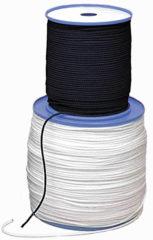 Witte Relags touw op 200-meterrol Tentaccessoires hardware 5mm wit