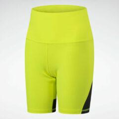 Gele Reebok Beyond The Sweat Bike Shorts