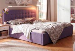 Home affaire Polsterbett »Hamar« mit Knopfheftung, in 3 Größen und 2 Farben