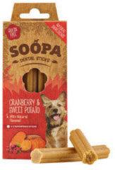 Soopa Dental Stick Cranberry & Zoete Aardappel