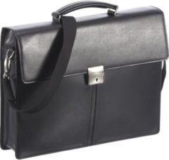 Esquire Brisbane Aktentasche Leder 40 cm Damen schwarz