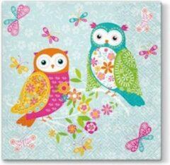 PAW Magical Owls papieren servetten