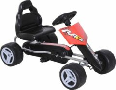 NiceGoodz Skelter - Trapauto - Buitenspeelgoed - 3 jaar -Rood/zwart - L80 x B49 x H50 cm