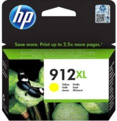 HP 912 XL Cartridge Origineel Geel 3YL83AE Cartridge