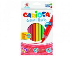 Pastelli Colored Pencils 12 pezzi Carioca