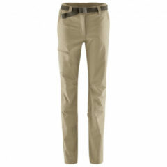 Beige MAIER SPORTS LULAKA ROLL-UP BROEK STANDAARD DAMES