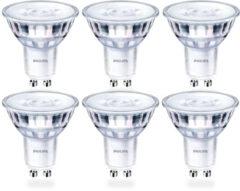 Philips CorePro LEDspot 5-50W GU10 FITTING - 36D - Extra Warm Wit - Dimbaar - 6-Pack