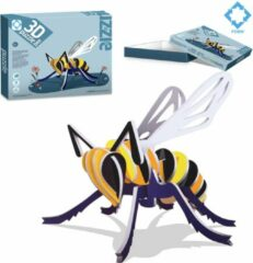 FDBW Puzzel 3 jaar – Insecten – 3D | Insect Puzzel – zelf maken | Puzzel Insecten 3 jaar | Insecten speelgoed kinderen - Bij