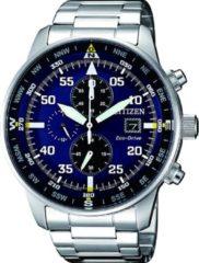 Zilveren Citizen chronograaf CA0690-88L