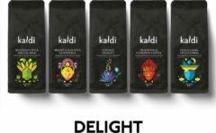 Kaldi 'Delight' Proefpakket Koffiebonen - 5 x 250 gram