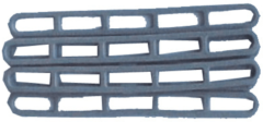Grijze Campking Trapspanner flexibel zak 6 stuks
