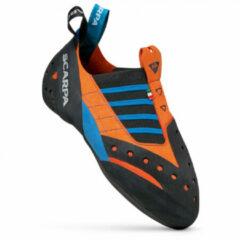 Scarpa Instinct SR Klimschoen Middenblauw/Oranje