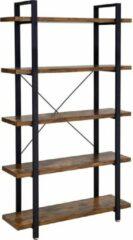 Vasagle Boekenkast - Kast - Kasten - Boekenkasten Met 5 Planken