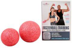 VITALmaxx Faszienball 2-tlg. + DVD